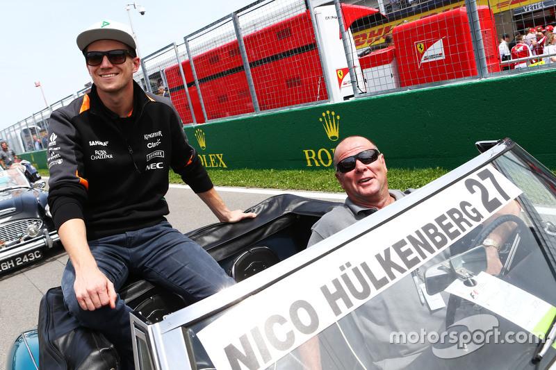 Nico Hülkenberg, Sahara Force India F1, bei der Fahrerparade