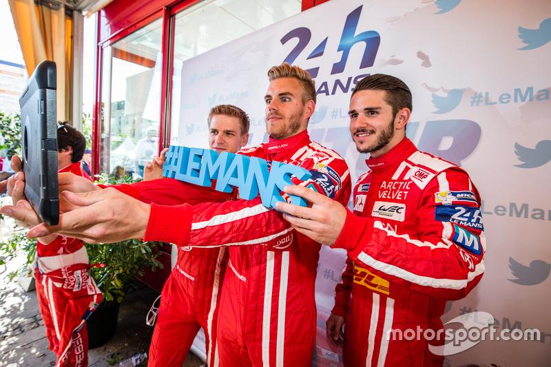 Rebellion Racing: Alexandre Imperatori, Dominik Kraihamer, Daniel Abt