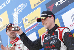 Posisi ke-3 Norbert Michelisz, Honda Civic WTCC, Zengo Motorsport