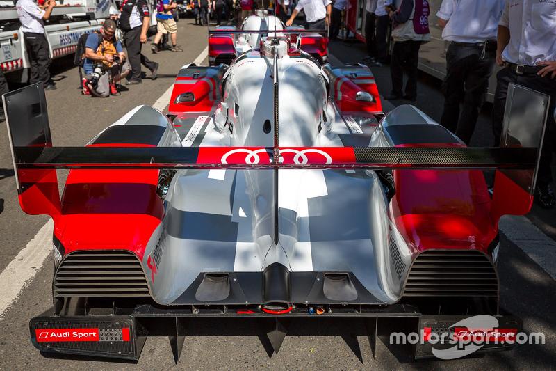 #8 Audi Sport Team Joest, Audi R18 e-tron quattro