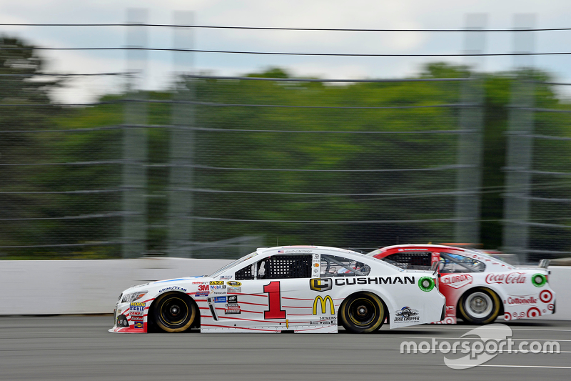 Jamie McMurray and Kyle Larson, Chip Ganassi Racing Chevrolets