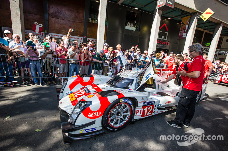 #12 Rebellion Racing, Rebellion R-One