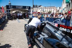 #18 Porsche Team, Porsche 919 Hybrid bei der Technischen Abnahme