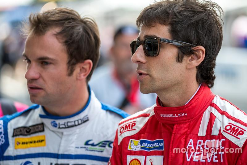 Rebellion Racing: Nicolas Prost, und KCMG: Nicolas Lapierre
