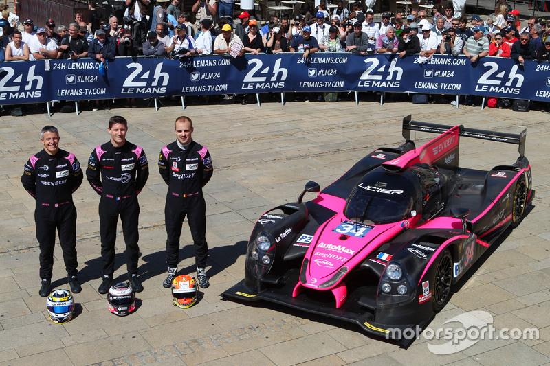 #34 OAK Racing Ligier JS P2: Chris Cumming, Kevin Estre, Laurens Vanthoor