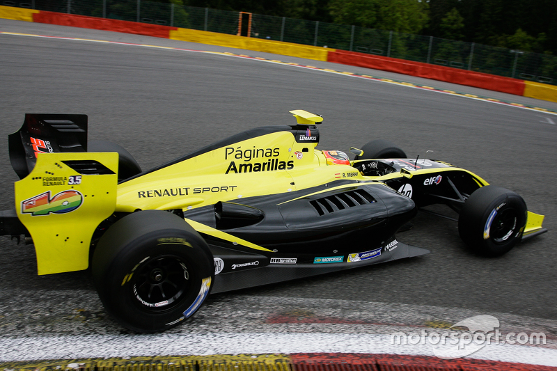 #40 Roberto Merhi, Zeta Corse