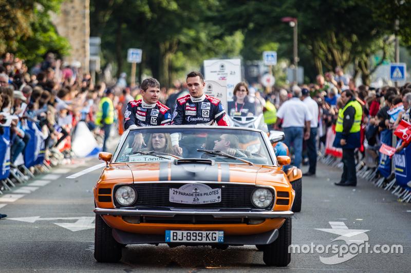 #37 SMP Racing, BR01: Anton Ladygin und Mikhail Aleshin