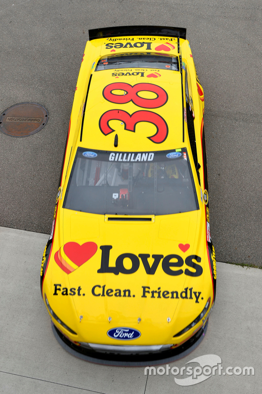 David Gilliland, Front Row Motorsports, Ford