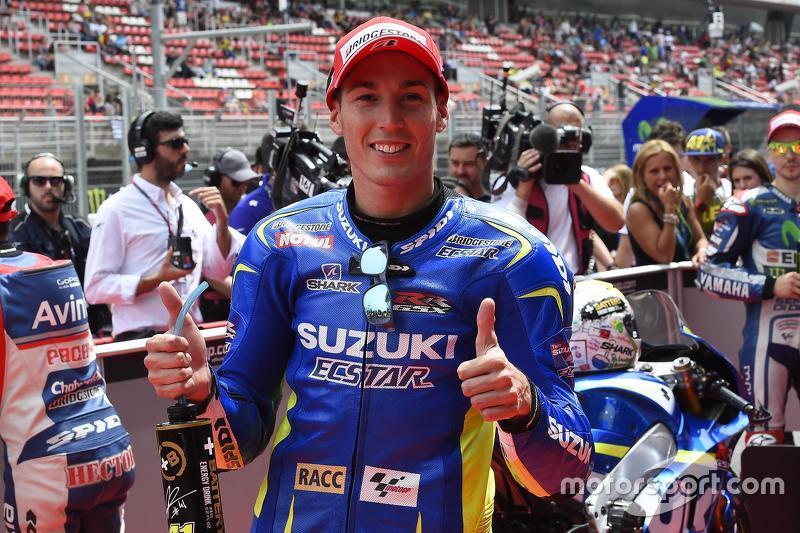 Pole-Sitter: Aleix Espargaro, Team Suzuki MotoGP
