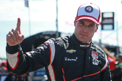 Pole Will Power, Team Penske Chevrolet celebrates