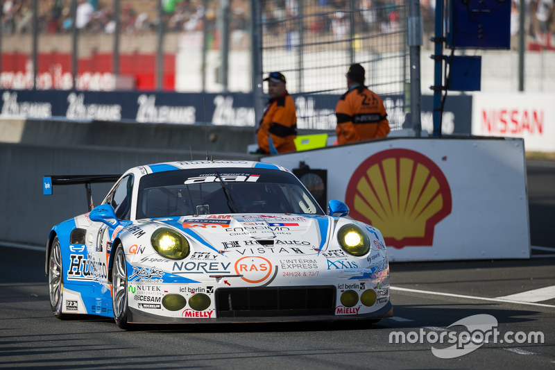 #68 Team AAI Porsche 911 GT3-RSR: Han-Chen Chen, Жиль Ваннеле, Mike Parisy