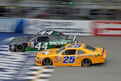 David Starr, TriStar Motorsports Toyota y John Wes Townley, Athenia Motorsports Chevrolet