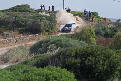 Andreas Mikkelsen und Ola Floene, Volkswagen Polo WRC, Volkswagen Motorsport