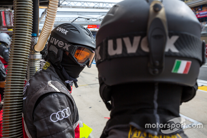 Audi Sport Team Joest, Boxencrew