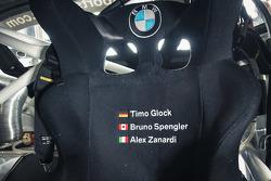 Timo Glock, Alex Zanardi, Bruno Spengler test the BMW Z4 GT3 for ROAL Motorsport