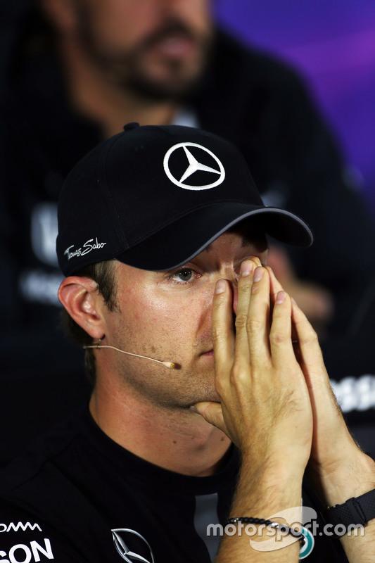 Ніко Росберг, Mercedes AMG F1 на пресс-конференції FIA
