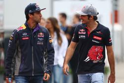 Daniel Ricciardo, Red Bull Racing dengan Carlos Sainz Jr., Scuderia Toro Rosso