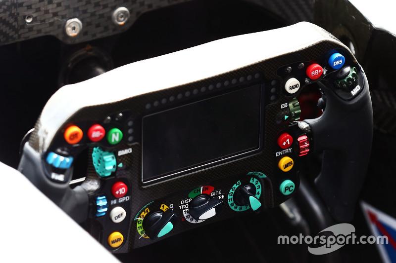 Mercedes AMG F1 W06, Lenkrad