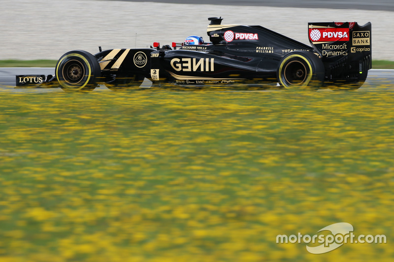 Jolyon Palmer, Lotus F1 E23 Test and Reserve Driver