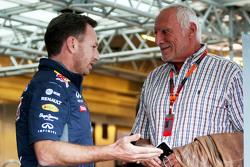 Кристиан Хорнер, руководитель команды Red Bull Racing и Дитрих Матешиц, генеральный директор и владе