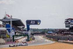 Départ : #9 Audi Sport Team Joest Audi R18 e-tron quattro : René Rast, Filipe Albuquerque, Marco Bonanomi