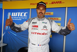 Polesitter Yvan Muller, Citroën C-Elysée WTCC, Citroën World Touring Car team