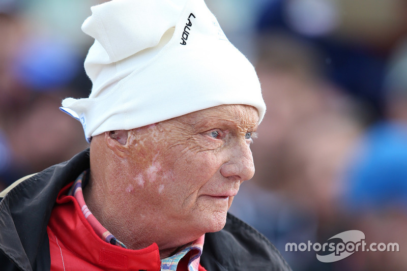 Niki Lauda, Mercedes Non-Executive Chairman di Legends Parade