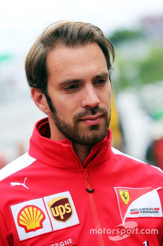 Jean-Eric Vergne, Ferrari Test Driver