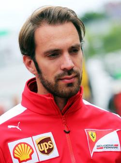Jean-Eric Vergne, piloto de testes da Ferrari