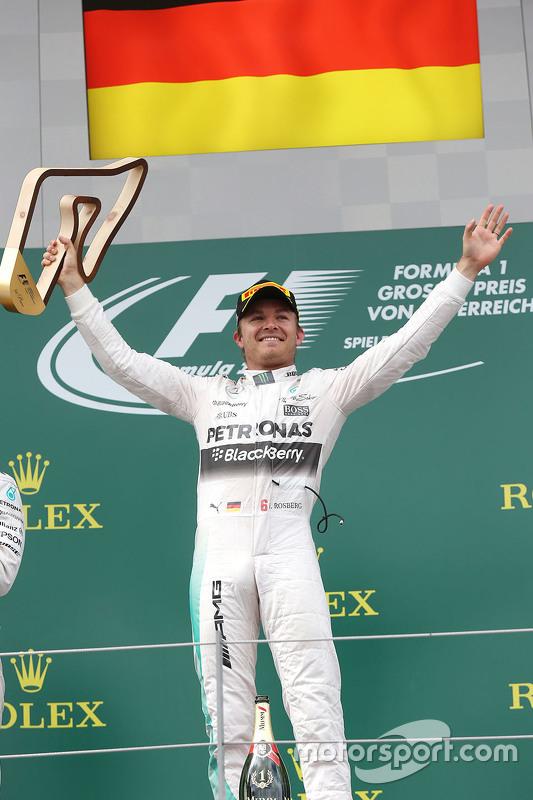 Vencedor Nico Rosberg, Mercedes AMG F1 Team
