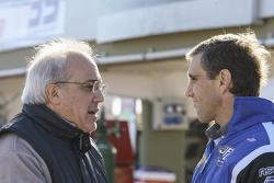 Engine інженер Fabian Acuña та Хуан Пабло Джанніні, JPG Racing Ford
