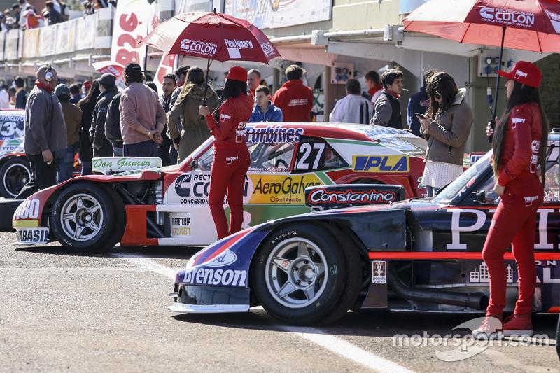 Mariano Altuna, Altuna Competicion, Chevrolet, und Emanuel Moriatis, Alifraco Sport, Ford (von hinten nach vorn)