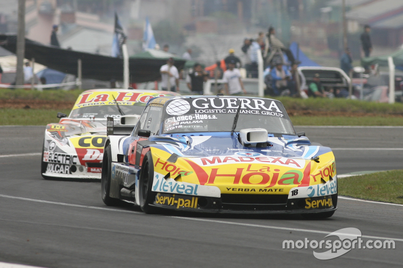 Luis Jose di Palma, Indecar Racing, Torino, und Sergio Alaux, Coiro Dole Racing, Chevrolet