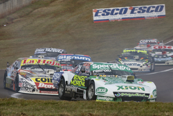 Emiliano Spataro, UR Racing Dodge dan Sergio Alaux, Coiro Dole Racing Chevrolet dan Guillermo Ortell
