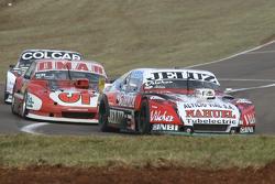 Pedro Gentile, JP Racing Chevrolet, dan Christian Dose, Dose Competicion Chevrolet, dan Gaston Mazza
