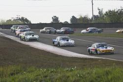 Luis Jose di Palma, Indecar Racing Torino, dan Federico Alonso, Taco Competicion Torino, dan Emilian