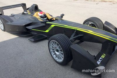 Team China Racing testing