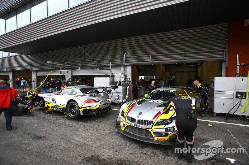 Marc VDS Racing Team area