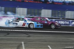 Александр Сиверцев, Nissan Silvia s14 и Федор Дзежиц, Toyota Mark II