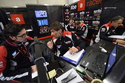 Aprilia Racing team area