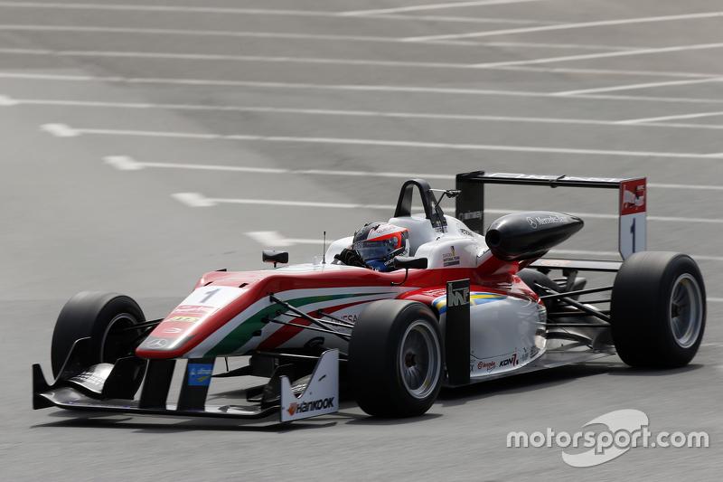 1 Felix Rosenqvist, Prema Powerteam Dallara Mercedes-Benz