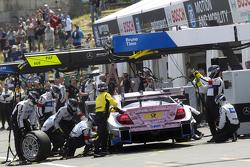 Pitstop, Lucas Auer, ART Grand Prix Mercedes-AMG C63 DTM