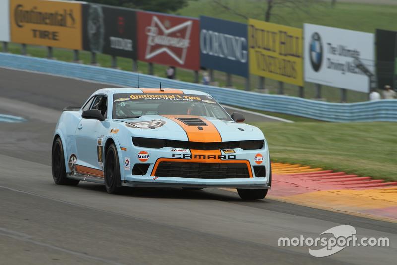 #8 Mantella Autosport, Chevrolet Comaro Z/28.R: Anthony Mantella, Mark Wilkins