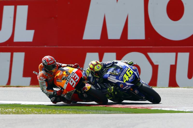 Rossi vs Márquez, acte 2