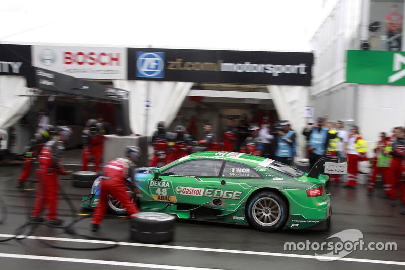 Pitstop, Edoardo Mortara, Audi Sport Team Abt Audi RS 5 DTM