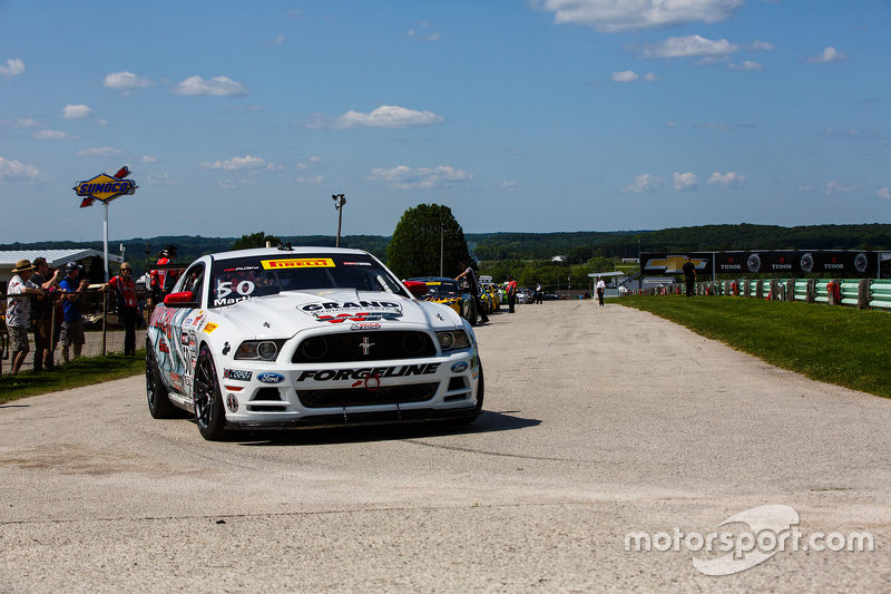 #50 Rehagen Racing/Picture Cars East Ford Boss 302: Dean Martin