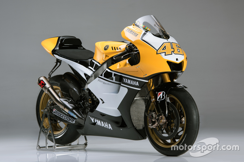 Goodwood Yamaha M1 of Valentino Rossi, Yamaha Factory Racing