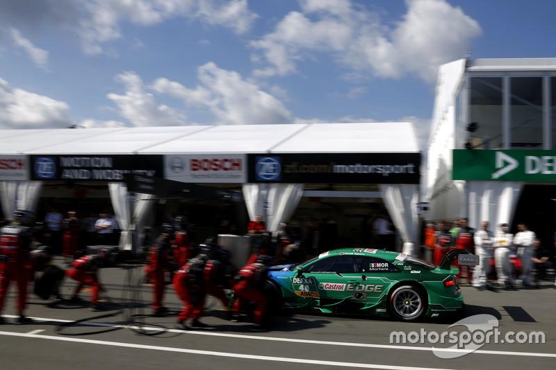 Boxenstopp für Edoardo Mortara, Audi Sport Team Abt, Audi RS 5 DTM