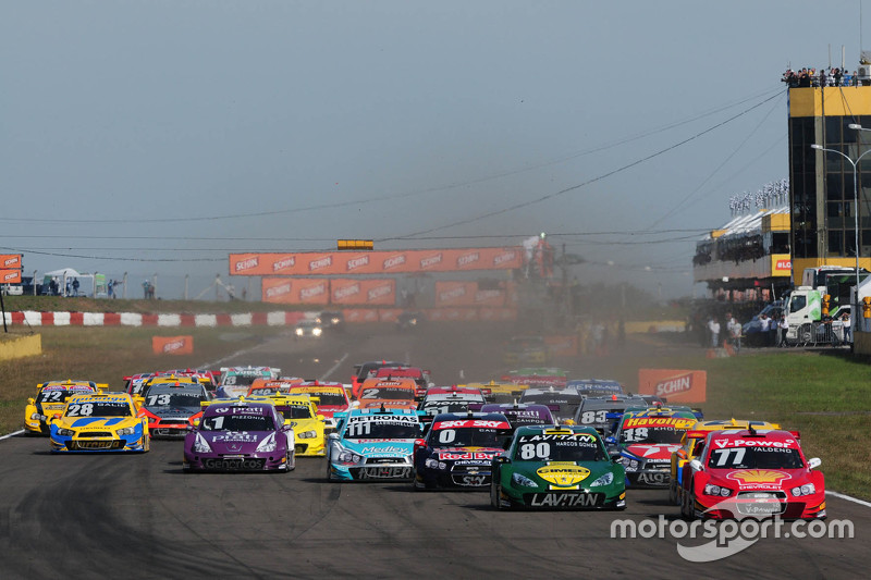 Santa Cruz do Sul race start