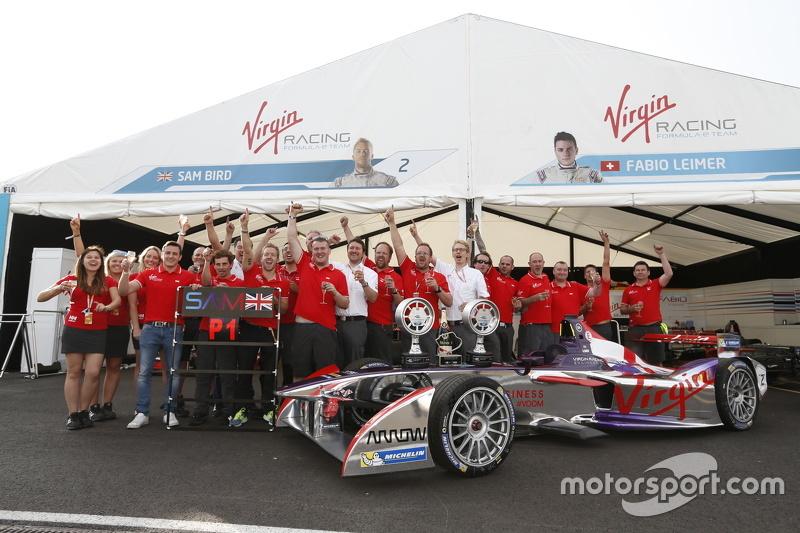 Fabio Leimer and Sam Bird, Virgin Racing